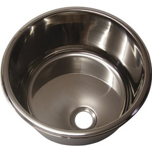 Flat Pack Stainless Steel Sinks : FLAT 30cm STAINLESS STEEL SINK (26820) -Berkshire Horse Box Bits